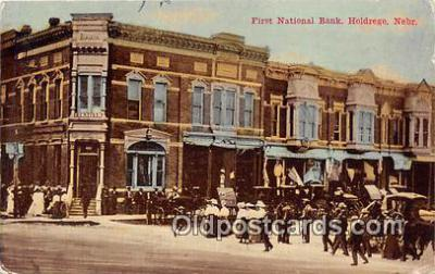 bnk001736 - First National Bank Holdrege, Nebraska, USA Postcard Post Card
