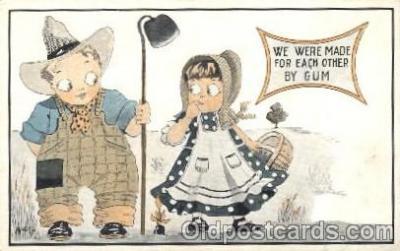 bon001021 - Bonnet, Bonnets, Postcard Post Card