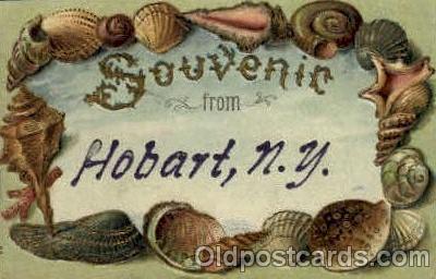 bor001066 - Hobart, NY, New York, USA Shells, Shell Border, Postcard Post Card