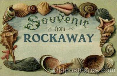 bor001071 - Rockaway Shells, Shell Border, Postcard Post Card