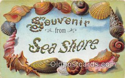 bor001079 - Sea Shore Postcard Post Card
