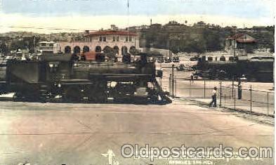 bot001008 - Mexico/USA border Border Town Towns Postcard Post Card