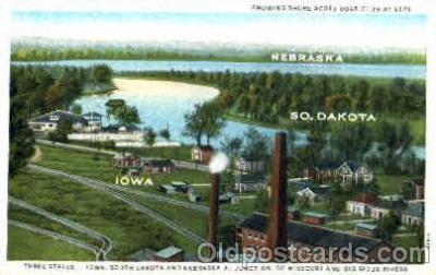 Iowa, Nebraska, & South Dakota borders