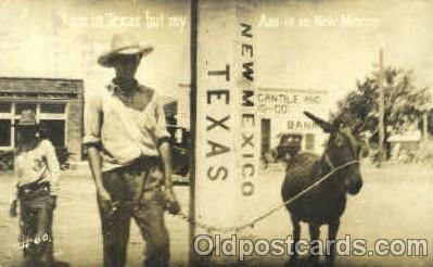 Texas / New Mexico border
