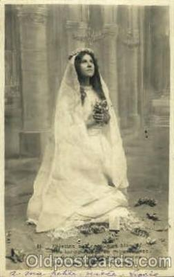 brd001003 - Phillettes Au Costumes Blancs  Brides, Bridal, Wedding, Postcard Post Card