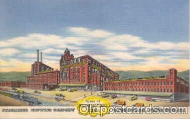 bre001005 - Gold Metal Beer, Stegmaier Brewing Company, Wilkes-Barre, Pennsylvania, Brewery Postcard Post Card