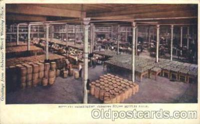 bre001020 - Anheuser Busch Brewing Brewery, Breweries Postcard Post Card
