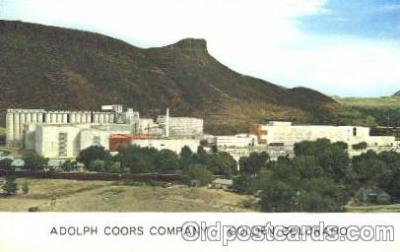 bre001033 - Colorado, Co, USA  Adolph Coors, Golden Colorado Brewery, Breweries Postcard Post Card