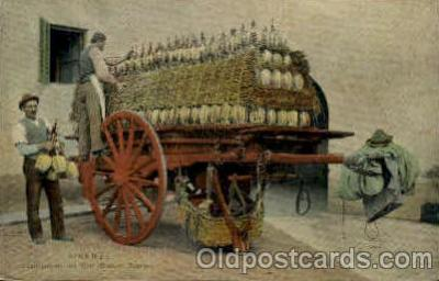 bre001063 - Scaricamento del Vino Beer Brewery, Breweries, Postcard Post Card