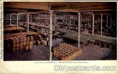 bre001068 - Anheuser-Busch Inc. Bottling Facility Beer Brewery, Breweries, Postcard Post Card