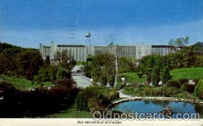 bre001078 - Old Grand Dad Distillery Beer Brewery, Breweries, Post Card Post Card