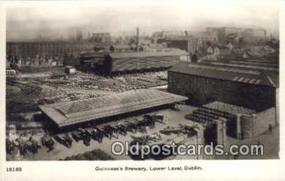 bre001191 - Guinness's Brewery, Lower Level Dublin Postcard Post Cards Old Vintage Antique