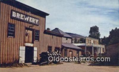 bre001194 - Brewery Virginia City, Montana, USA Postcard Post Cards Old Vintage Antique