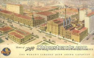 bre001200 - Schlitz Brewery Milwaukee, Wis, USA Postcard Post Cards Old Vintage Antique