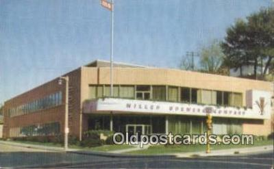 bre001202 - Miller Brewing Co Milwaukee, WI, USA Postcard Post Cards Old Vintage Antique