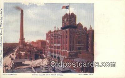 bre001208 - Power Plant & Brew House St. Louis, MO, USA Postcard Post Cards Old Vintage Antique
