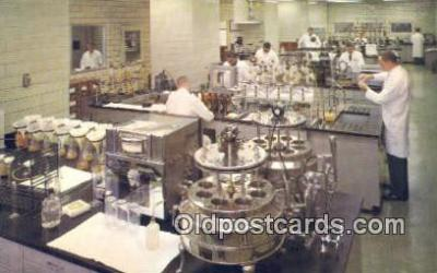 bre001244 - Stroh Brewery Co Laboratory Detroit, Michigan, USA Postcard Post Cards Old Vintage Antique