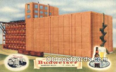 bre001250 - Budweiser St. Louis, MO, USA Postcard Post Cards Old Vintage Antique