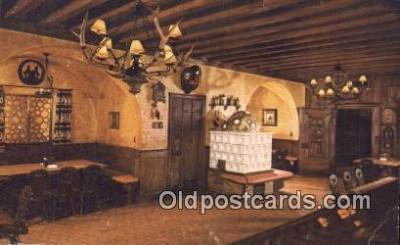 bre001289 - Schlitz Brown Bottle, Guest Hall, Jos Schlitz Brewing Co Milwaukee, Wis, USA Postcard Post Cards Old Vintage Antique