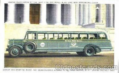 bus010012 - Pennsylvainia Avenue, N.W. Washington DC USA, Bus Buses Postcard Post Card
