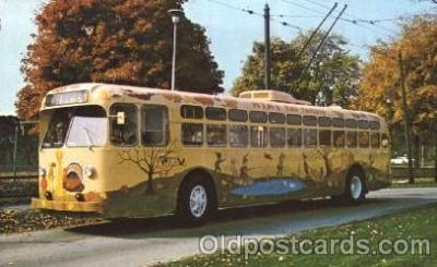 bus010040 - Dayton, Ohio, Oh, USA  Miami Valley Transit bus Bus, Buses Postcard Post Card