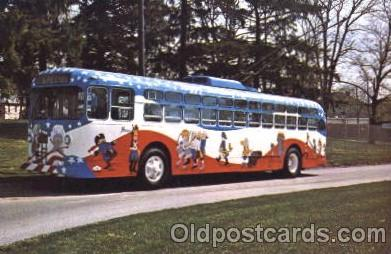 bus010041 - Dayton, Ohio, Oh, USA Transit coach, Ohio Bus, Buses Postcard Post Card