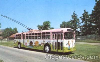 bus010043 - Dayton, Ohio, Oh, USA Miami Valley Transit bus Bus, Buses Postcard Post Card