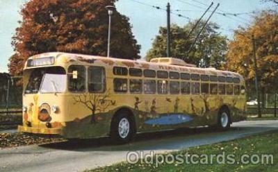bus010049 - Dayton, Ohio, Oh, USA Miami Valley Transit bus Bus, Buses Postcard Post Card