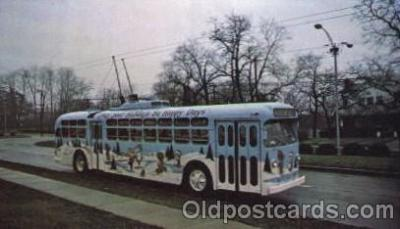 bus010052 - Dayton, Ohio, Oh, USA Christmas bus Bus, Buses Postcard Post Card