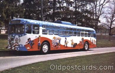 bus010053 - Dayton, Ohio, Oh, USA Miami Valley Transit bus Bus, Buses Postcard Post Card