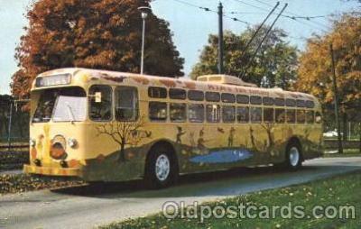 bus010057 - Dayton, Ohio, Oh, USA Miami Valley Transit bus Bus, Buses Postcard Post Card