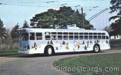 bus010058 - Dayton, Ohio, Oh, USA Miami Valley Transit bus Bus, Buses Postcard Post Card