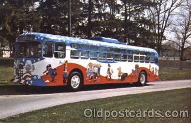 bus010061 - Dayton, Ohio, Oh, USA Miami Valley Transit bus Bus, Buses Postcard Post Card