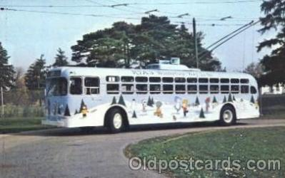bus010065 - Dayton, Ohio, Oh, USA Miami Valley Transit bus Bus, Buses Postcard Post Card