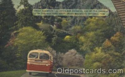 bus010073 - Smoky Mountain Trailway, North Carolina, Nc, USA Bus, Buses Postcard Post Card