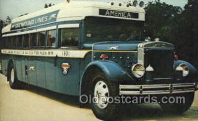 Greyhound Bus no 1931, St Louis, MI USA
