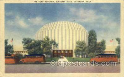 bus010094 - Dearborn, MI USA Bus Buses, Old Vintage Antique Post Card Postcard