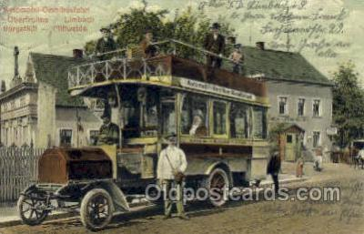 bus010114 - Automobil Ominbustsfahrt Bus Buses, Old Vintage Antique Post Card Postcard