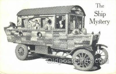 bus010121 - The Ship Mystery Bus Buses, Old Vintage Antique Post Card Postcard