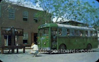 bus010127 - St Georges, Bermuda Bus Buses, Old Vintage Antique Post Card Postcard
