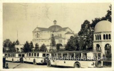 bus010142 - Washington DC USA Bus Buses, Old Vintage Antique Post Card Postcard