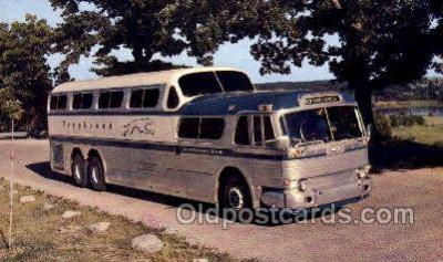 bus010180 - Greyhound Scenicruiser, USA Bus Buses, Old Vintage Antique Post Card Postcard
