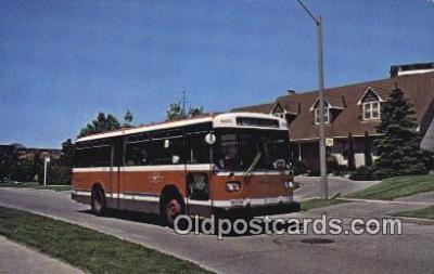 bus010188 - Orion Bus Joins TTC Fleet  Postcard Post Card, Carte Postale, Cartolina Postale, Tarjets Postal,  Old Vintage Antique