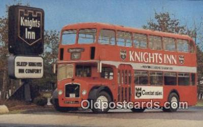 bus010192 - Knights Inn Bristal Double Decker  Postcard Post Card, Carte Postale, Cartolina Postale, Tarjets Postal,  Old Vintage Antique