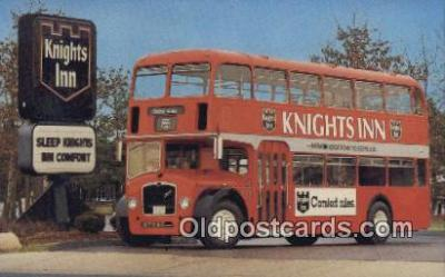 bus010193 - Knights Inn Bristal Double Decker  Postcard Post Card, Carte Postale, Cartolina Postale, Tarjets Postal,  Old Vintage Antique