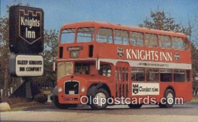 bus010194 - Knights Inn Bristal Double Decker  Postcard Post Card, Carte Postale, Cartolina Postale, Tarjets Postal,  Old Vintage Antique