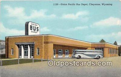 bus010231 - Bus Teminal Depot Vintage Collectable Postcards