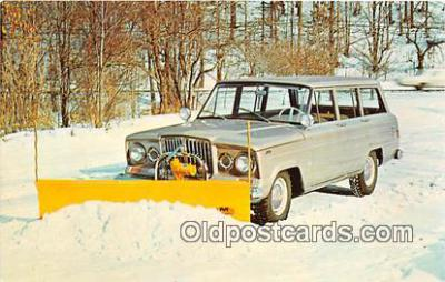 Jeep, Snow Plow