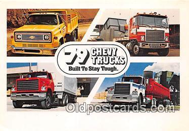 bus010248 - Trucks, Vintage Collectable Postcards