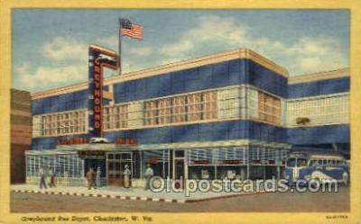 bus500002 - Greyhound bus depot Charleston West Virginia USA